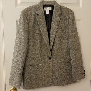 Orvis wool blazer size 14